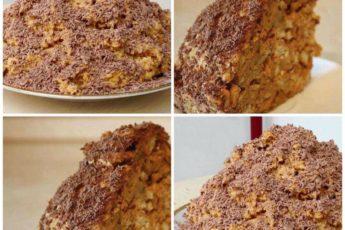 БЕСПРОИГРЫШНЫЙ ВАРИАНТ К ЧАЮ — САМЫЙ ВКУСНЫЙ торт «Муравейник» за 10 минут
