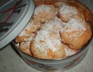 Яблочное печенье — просто тает во рту
