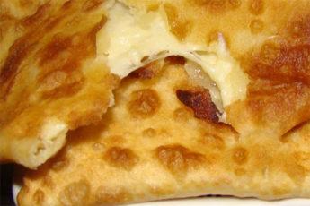 Лепёшки с сыром