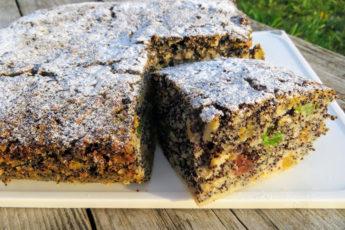 Божествено вкусный пирог без муки с маком и яблоками — бомба